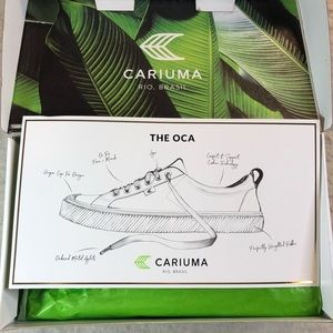 Cariuma Shoes - Cariuma Oca Red Women's Canvas Sneaker